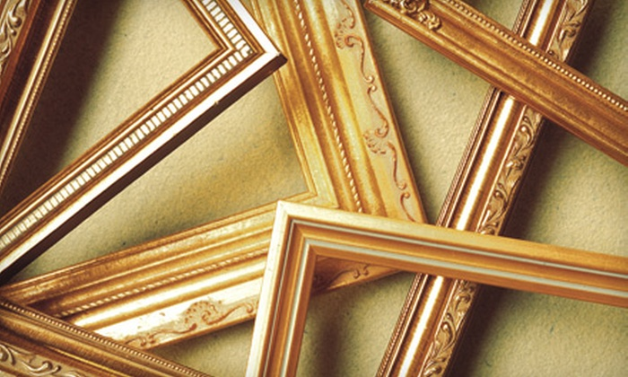 Marlow Framing & Art - City Center: $50 for $100 Worth of Custom Framing at Marlow Framing & Art