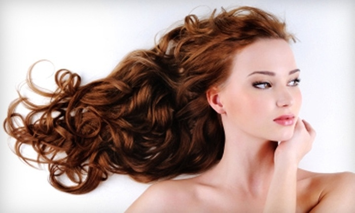 A Beauty Parlor - Jamestown: $29 for 60-Minute Basic Hydrodermie Facial ($70 Value) or $15 for Shampoo, Cut, and Style (Up to $40 Value) at A Beauty Parlor in Jamestown