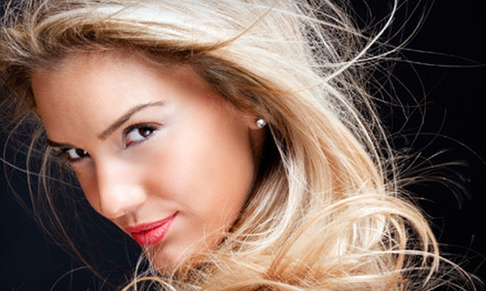 Z Studio - Brookside: Haircut Package, Partial-Highlights Package, or Full-Color Package at Z Studio (Up to 61% Off)
