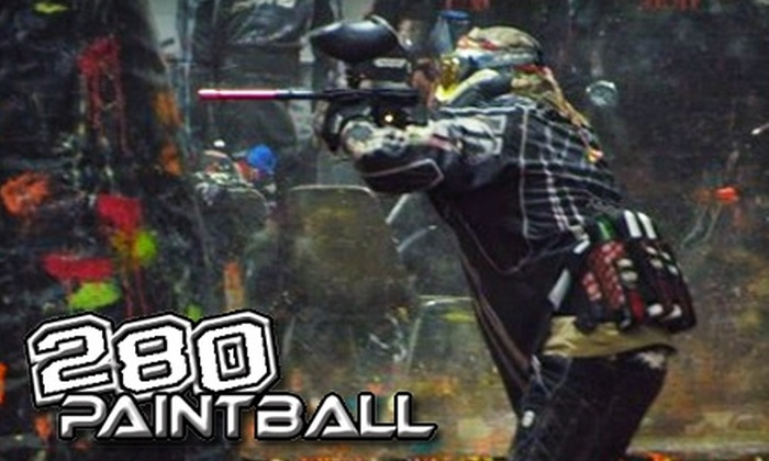 280 Paintball - Hickman Mills: $17 for Admission, Gear Rental, and 500 Rounds of Ammunition at 280 Paintball ($35 Value)