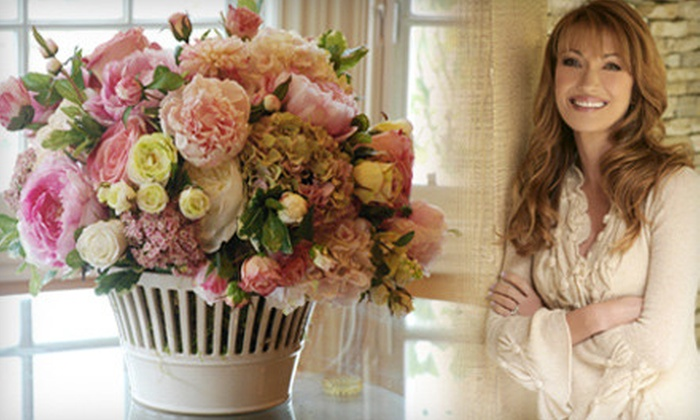 Jane Seymour Botanicals: Permanent Flower Arrangements from Jane Seymour Botanicals (Half Off). Two Options Available.