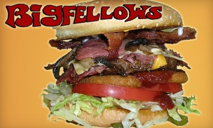 Big Fellows Sandwich Parlor - Pacific: $8 For $16 Worth of Sandwiches and More at Big Fellows Sandwich Parlor