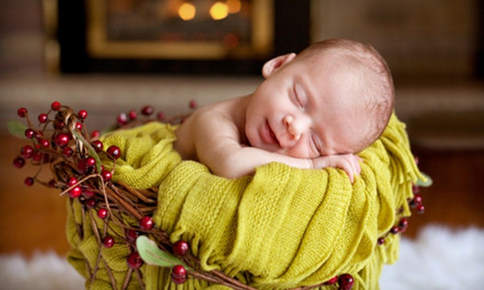 Rena Christine Photography - London, ON: $59 for a Newborn Photo Package with On-Location Shoot and Announcement Cards from Rena Christine Photography ($250 Value)