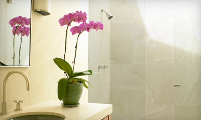 Absolute Carpet Care - Herndon Heights: Cleaning of Tile and Grout for One Bathroom or Kitchen from Absolute Carpet Care (Up to 63% Off)