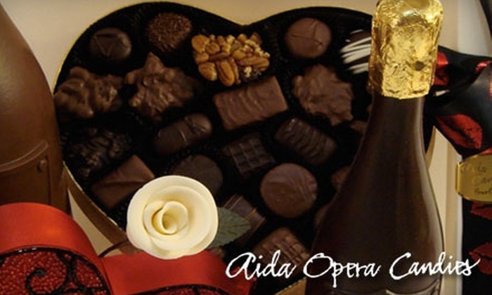 Aida Opera Candies - Downtown: $10 for $20 Worth of Candies from Aida Opera Candies in Burlingame