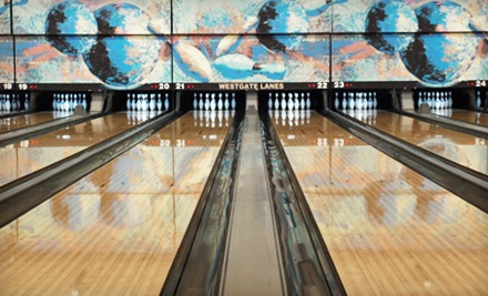 Dart Bowl at 5700 Grover Ave.: 1 Hour of Bowling and Shoe Rentals for 2 - Dart Bowl in Austin