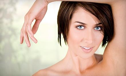 Medispa di Tuscany: 3 Laser Hair-Removal Treatments on any Semi-Large Area - Medispa di Tuscany in Oklahoma City