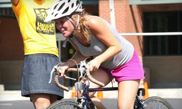 Adventure Fit - Downtown Tucson: $54 for Team Entry to the New Belgium Brewing Urban Assault Ride on March 20 ($90 Value)