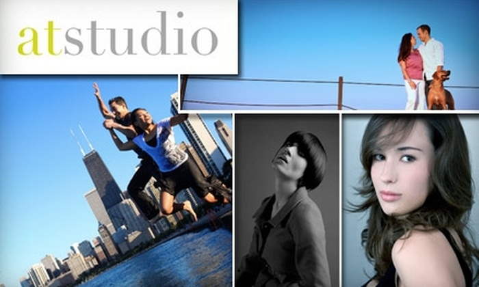 Atstudio - Chicago: $80 for One-Hour Portrait Session and Three Digital Negatives From Atstudio ($380 Value)