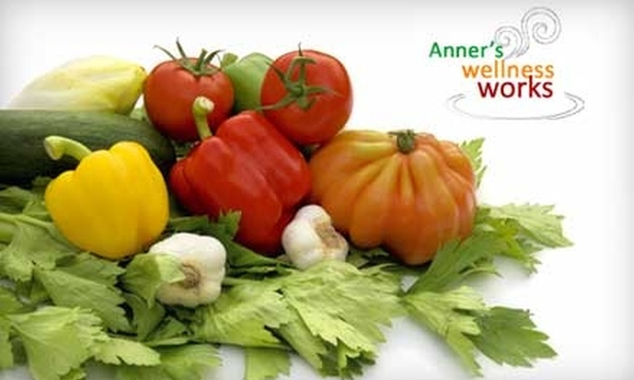 Anner's Wellness Works - Riverview: $35 for a One-Year Co-Op Membership to Anner's Wellness Works and One Bag of Produce or Meat ($78 Value)