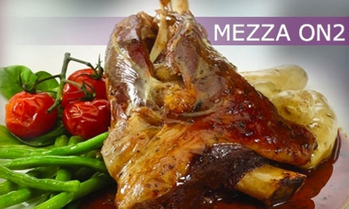 Mezza On2 - Deer Park: $20 for $40 Worth of Dinner (Or $10 for $20 Worth of Lunch) at Mezza On2
