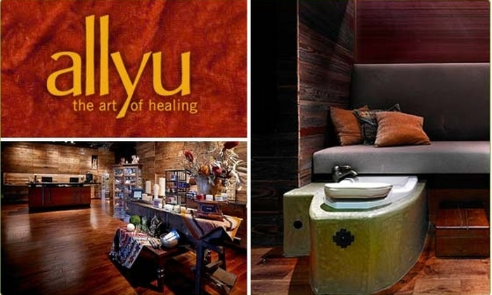 Allyu - Multiple Locations: $45 for a Waxing and Pedicure at Allyu Spa (53% Off)
