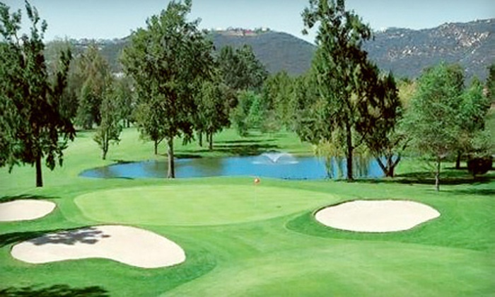 Escondido Country Club - Country Club: Round of Golf and Lunch for Two or 10 Buckets of Range Balls at Escondido Country Club (Up to 65% Off)