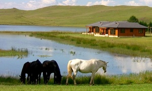 Sani Valley Lodge: Horse Ride, Boat Hire and Two-Night Weekday Stay with Breakfast from R1 999 for Two at Sani Valley Lodge (Up to 53% Off)