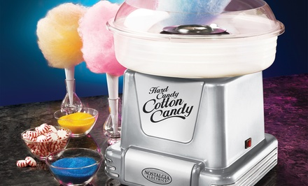 groupon daily deal - Nostalgia Electrics Platinum Series Cotton-Candy Maker. Free Returns.