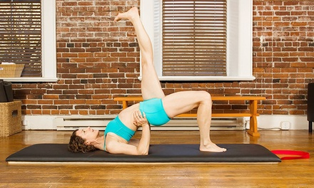 10 or 20 Pilates Mat Classes at Life Pilates Vancouver LLC (Up to 72% Off)
