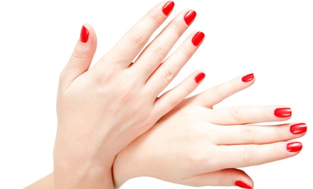 Regular or Deluxe Mani-Pedi at Bua Massage and Spa (Up to 37% Off)