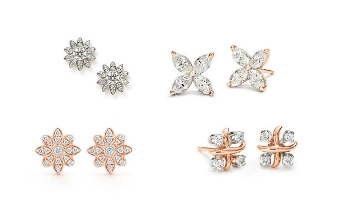 stud earrings groupon goods