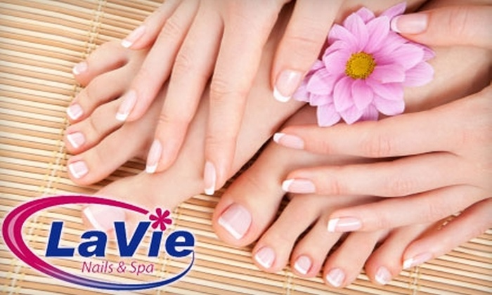 LaVie Nails & Spa - Western Skies Village: $20 for a Relaxing, Pampering Mani-Pedi at LaVie Nails & Spa in Gilbert