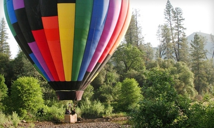 Sky Drifters - Rancho Murieta: $112 for One Sunrise Hot Air Balloon Ride and Champagne Toast with Sky Drifters in Rancho Murieta