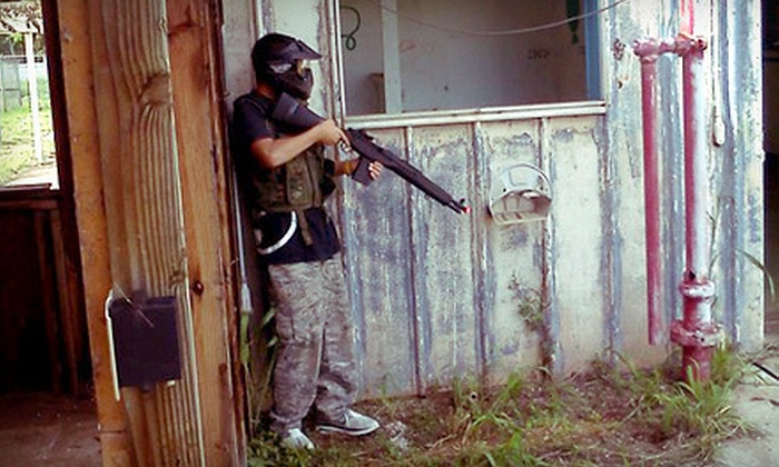 Kapolei Airsoft - Kapolei: All-Day Airsoft Outing for One, Two, or Four with Gear Rental at Kapolei Airsoft (Up to 63% Off)