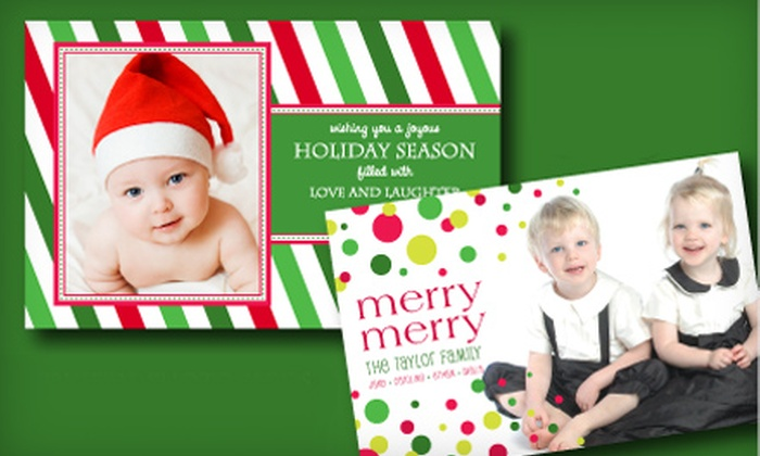 SanLori: Personalized Paper Products or Photo Cards from SanLori (Half Off)
