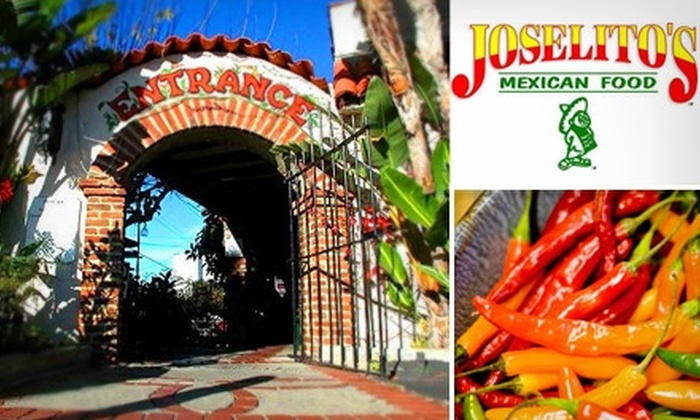 Joselito's Mexican Food - Tujunga: $15 for $30 Worth of Authentic Cuisine and Drinks at Joselito's Mexican Food