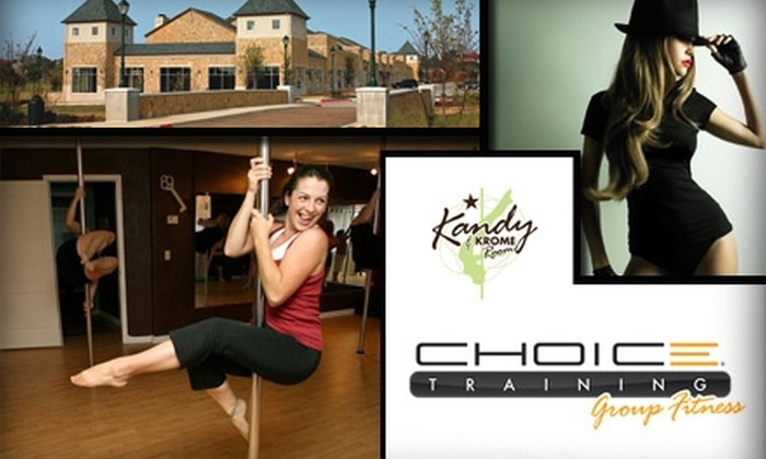 Choice Training Group Fitness - Hebron: $25 for Three Pole-Dancing and One Burlesque Class at Choice Training Group Fitness
