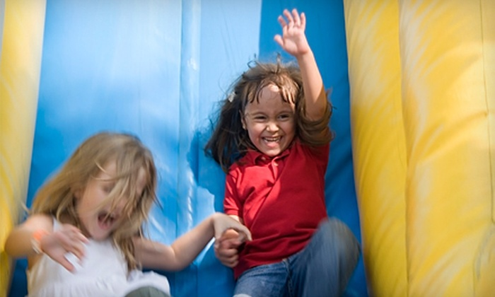 Screamin' Parties - Multiple Locations: $29 for Five Open-Play Bounce Sessions at Screamin' Parties ($75 Value)