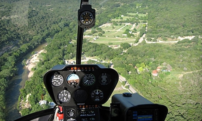 Helicopter Tours of Texas - New Braunfels: $135 for 20-Minute Helicopter Tour of East-Central Texas from Helicopter Tours of Texas ($272.21 Value)