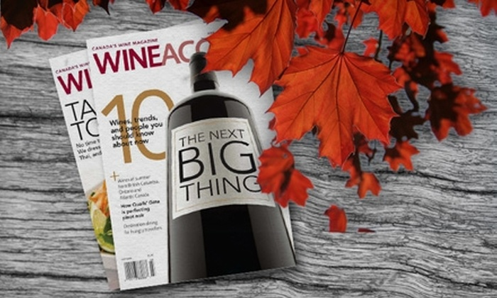 """""""Wine Access"""" Magazine: $20 for a One-Year Subscription to """"Wine Access"""" Magazine ($40 Value)"""