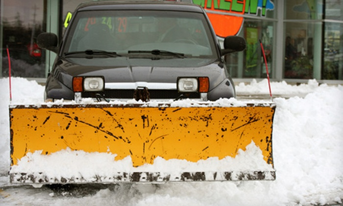Porky's Plowing - Marvin Gardens: One, Three, or Five Driveway-Snowplowing Services from Porky's Plowing (Half Off)