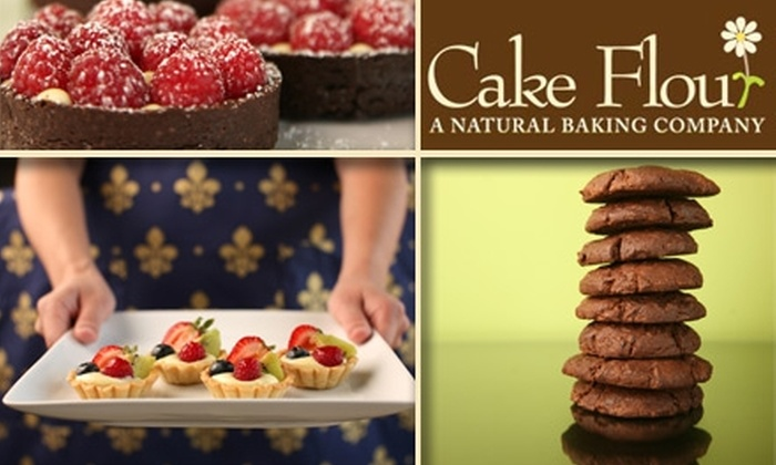 Cake Flour - Phoenix Hill: $8 for $16 Worth of Delicious Organic Cupcakes & Sweets at Cake Flour