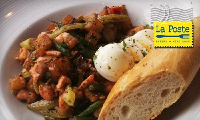 La Poste - Clifton: $15 for $30 Worth of Gourmet American Fare and Wine at La Poste