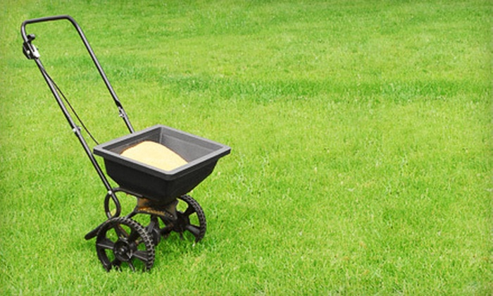 Naturescape Lawn and Landscape Care - Cedar Rapids: Four Fertilizer and Weed-Control Visits from Naturescape Lawn and Landscape Care (Up to 54% Off). Two Options Available.