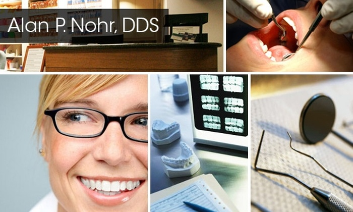 Alan P Nohr, DDS - Downtown Redmond: Don't Have Dental? Get Clean and Healthy Teeth for $60 at Alan P. Nohr DDS (Normally $392)