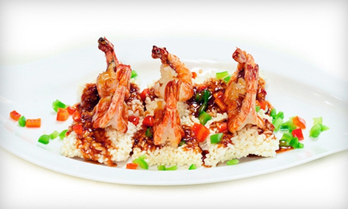 O'Asian Kitchen - Downtown: $19 for $40 Worth of Asian Cuisine for Dinner at O'Asian Kitchen