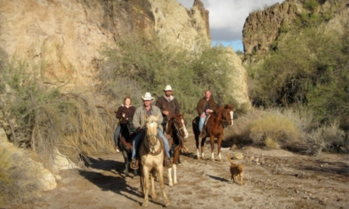 Cowboy Way Adventures - Wickenburg: Two- or Three-Hour Guided Horseback Trail Ride from Cowboy Way Adventures (51% Off)