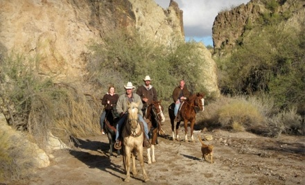 2-Hour Guided Horseback Trail Ride (a $65 value) - Cowboy Way Adventures in Wickenburg