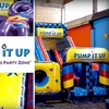 Pump it Up - Chicago - Multiple Locations: $40 for 10 Visits to Pop-In Playtime at Pump It Up, The Inflatable Party Zone ($100 Value)