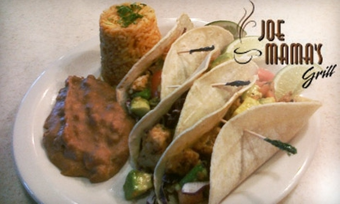 Joe Mama's Grill - Limberlost: $7 for $20 Worth of Breakfast and Lunch at Joe Mama's Grill
