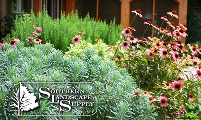 Southern Landscape Supply - Multiple Locations: $20 for $50 Worth of Landscaping Supplies at Southern Landscape Supply