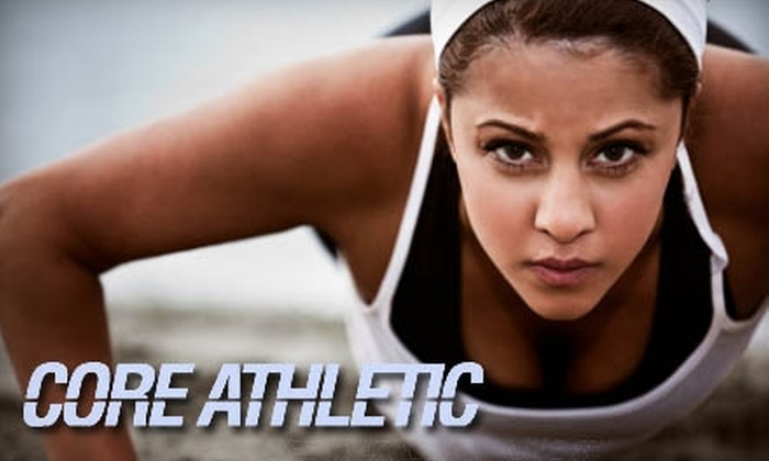 Core Athletic - Business Park: $39 for One Month of Unlimited Group Fitness Classes at Core Athletic ($87 Value)