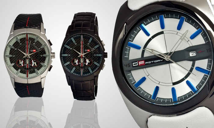 DFactory Men's Watches: DFactory Men's Watch (Up to 80% Off). 11 Styles Available. Free Shipping.