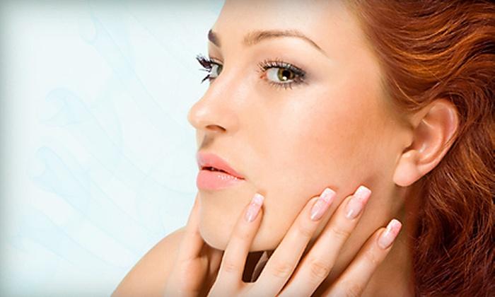 Salon Eleven  - Samantha at Salon Eleven: Shellac Manicure or Mani-Pedi at Salon Eleven (Up to 57% Off)