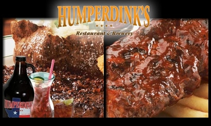 Humperdink's - Multiple Locations: $25 for $50 Worth of American Fare at Humperdink's
