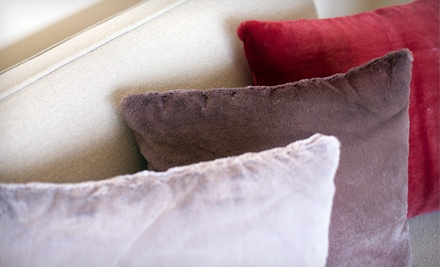 Taupe Set of 2 Decorative Throw Pillows (a $44 total value) - Decorative Throw Pillow Set in