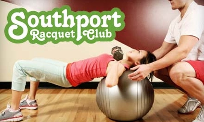 Southport Racquet Club - Fairfield: One-Month Gym Membership and More at Southport Racquet Club. Choose Between Two Options.