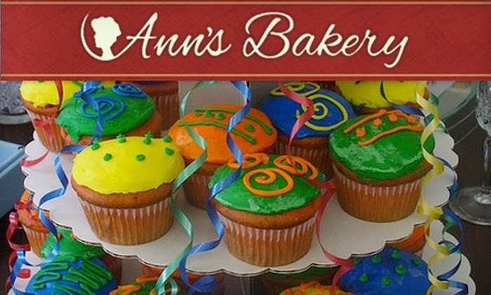 Ann's Bakery - Turner Park: $10 for $20 Worth of Cupcakes, Cakes, and Cookies at Ann's Bakery