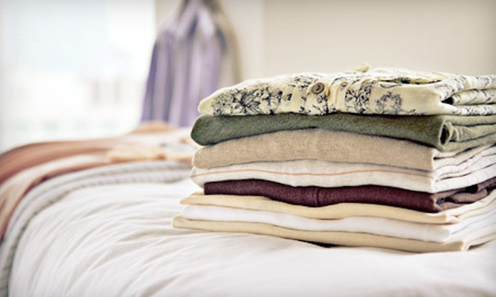 Home Cleaning Services - Elmhurst: One, Two, or Three Months of Laundry Services from Home Cleaning Services (Up to 57% Off)